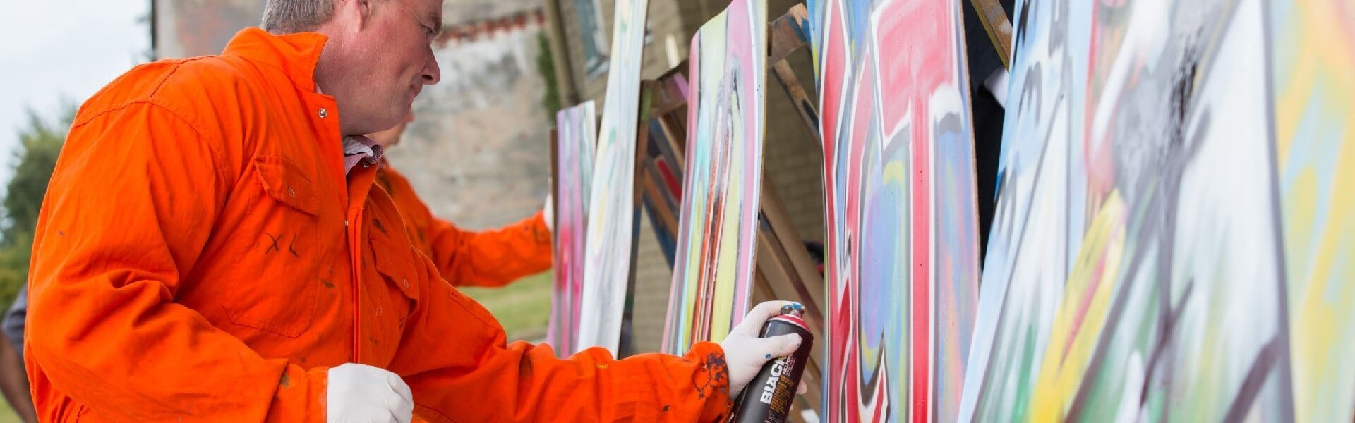 Graffiti workshop | Bedrijfsuitjes in Twente