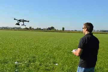 drone vliegen | bedrijfsuitjes in twente s