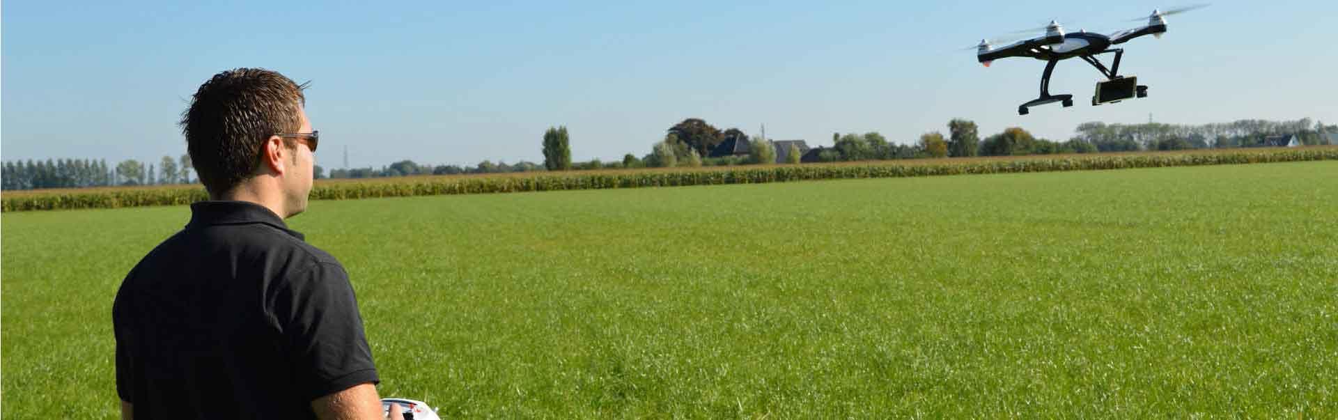 Drone vliegen | Bedrijfsuitjes in Twente