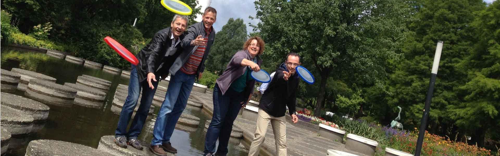 Frisbee straatgolf | Bedrijfsuitjes in Twente
