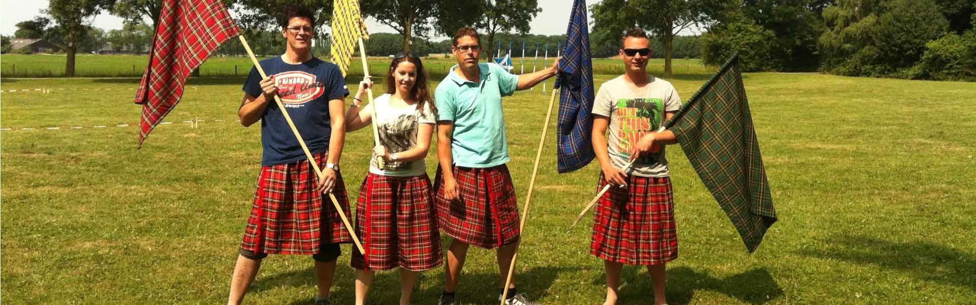 Highland Games | Bedrijfsuitjes in Twente