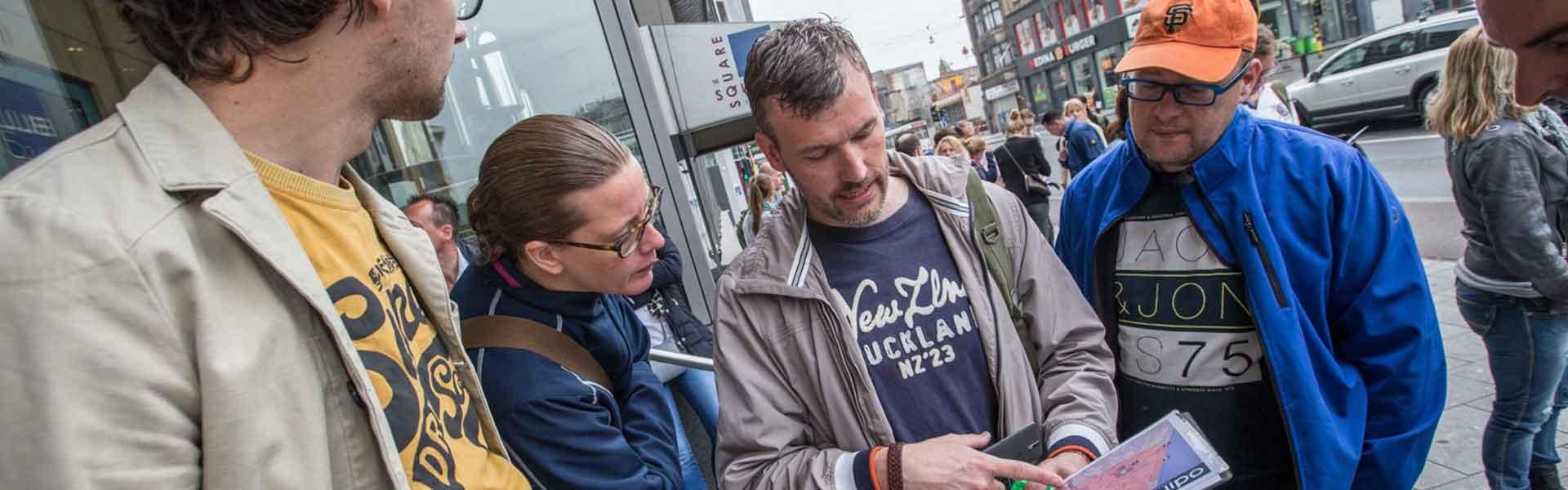 Stadsspel met tablet   Bedrijfsuitjes in Twente