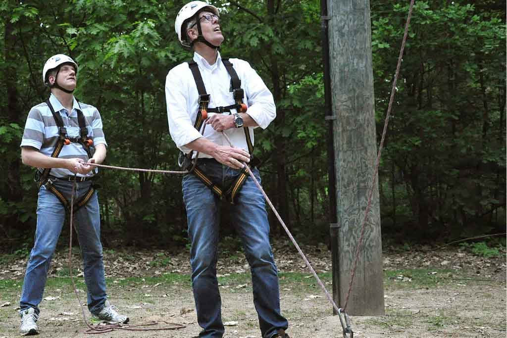 high ropes course | bedrijfsuitjes in twente 1
