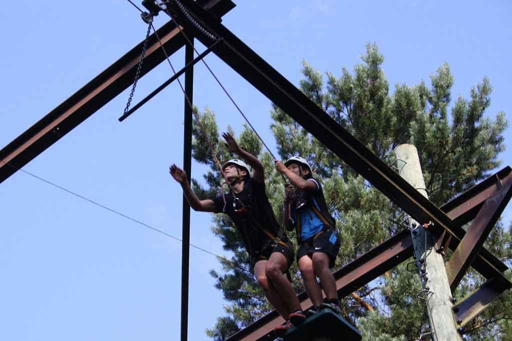 high ropes course   bedrijfsuitjes in twente 2