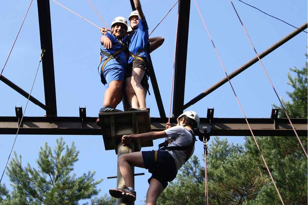high ropes course   bedrijfsuitjes in twente 3