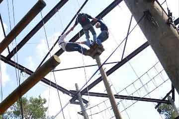 high ropes course | bedrijfsuitjes in twente s